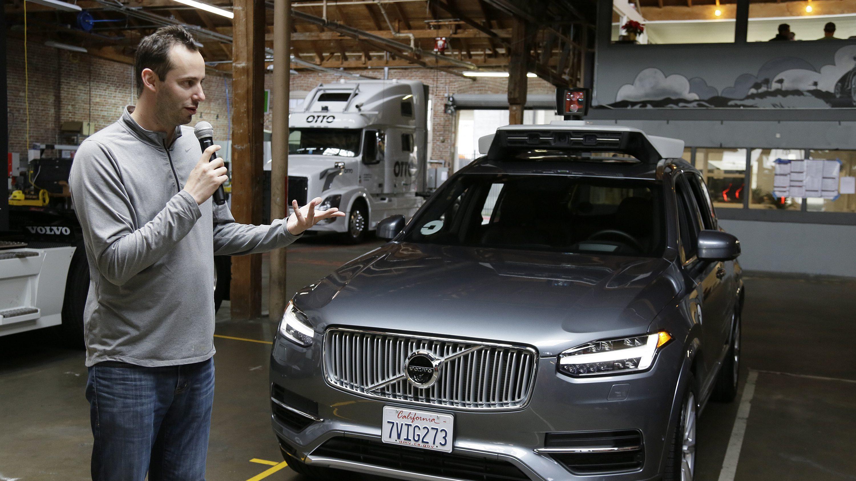 Uber executive and former Waymo employee Anthony Levandowski.