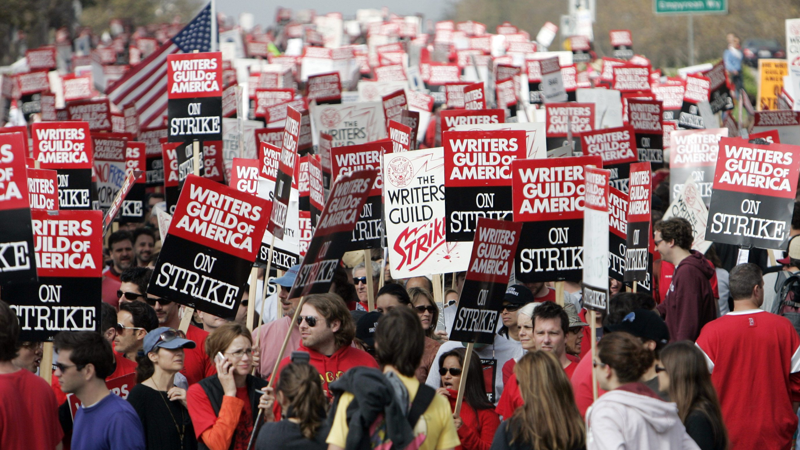 2007-2008 hollywood writers' strike