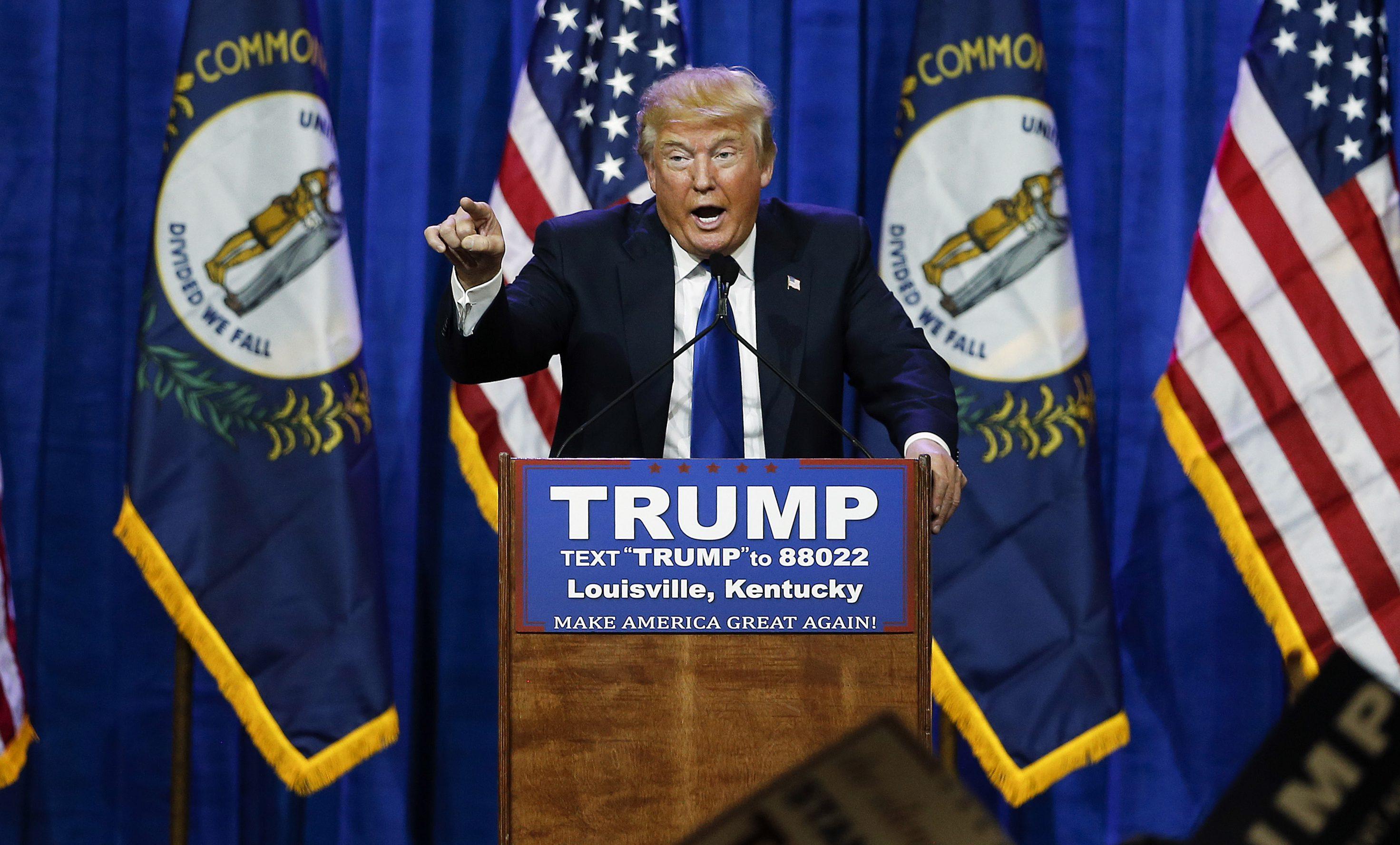 Image of Trump.