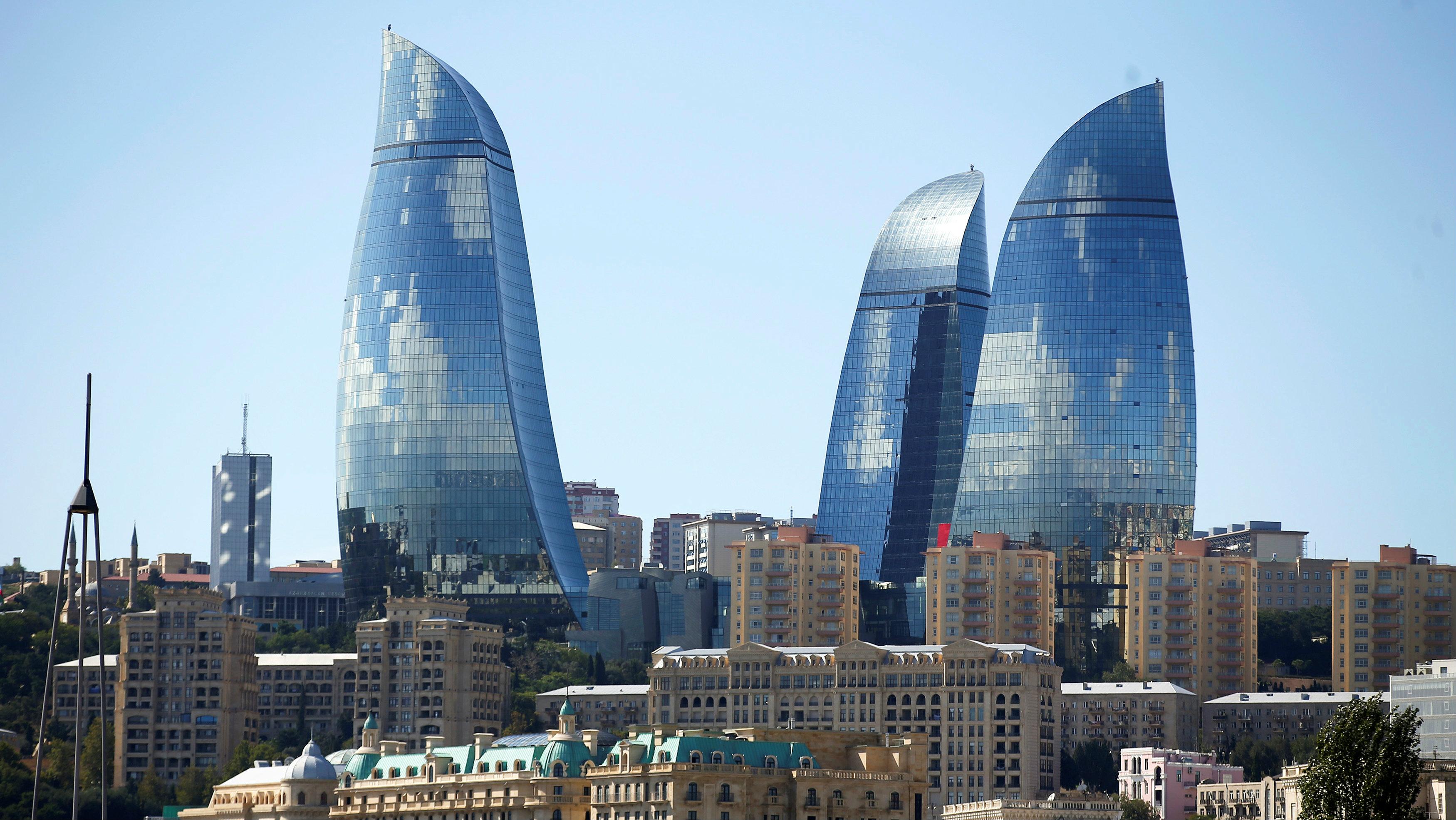 The city of Baku