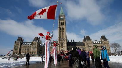 National Flag of Canada Day ceremony in Ottawa