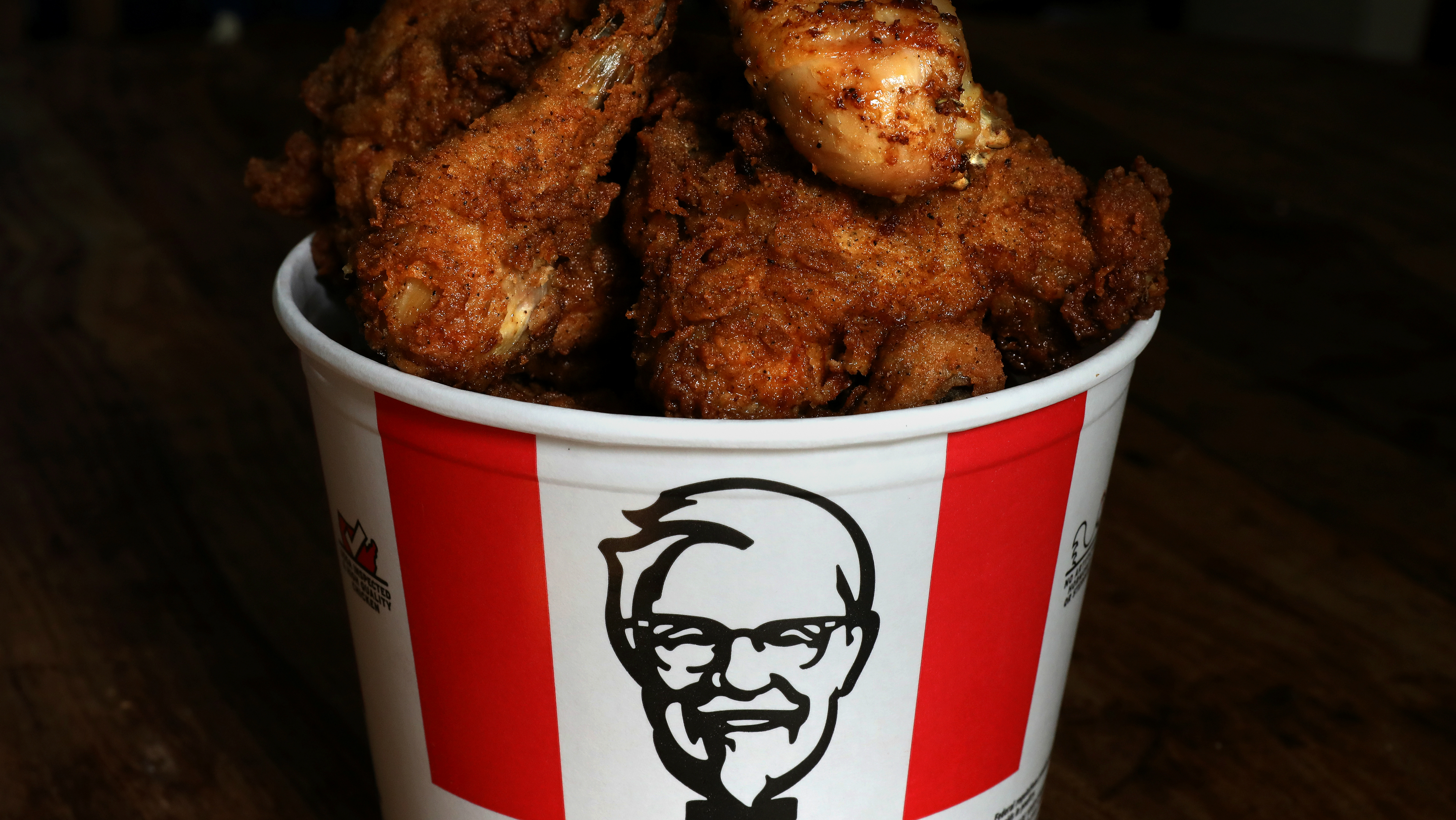 KFC goes antibiotic free.