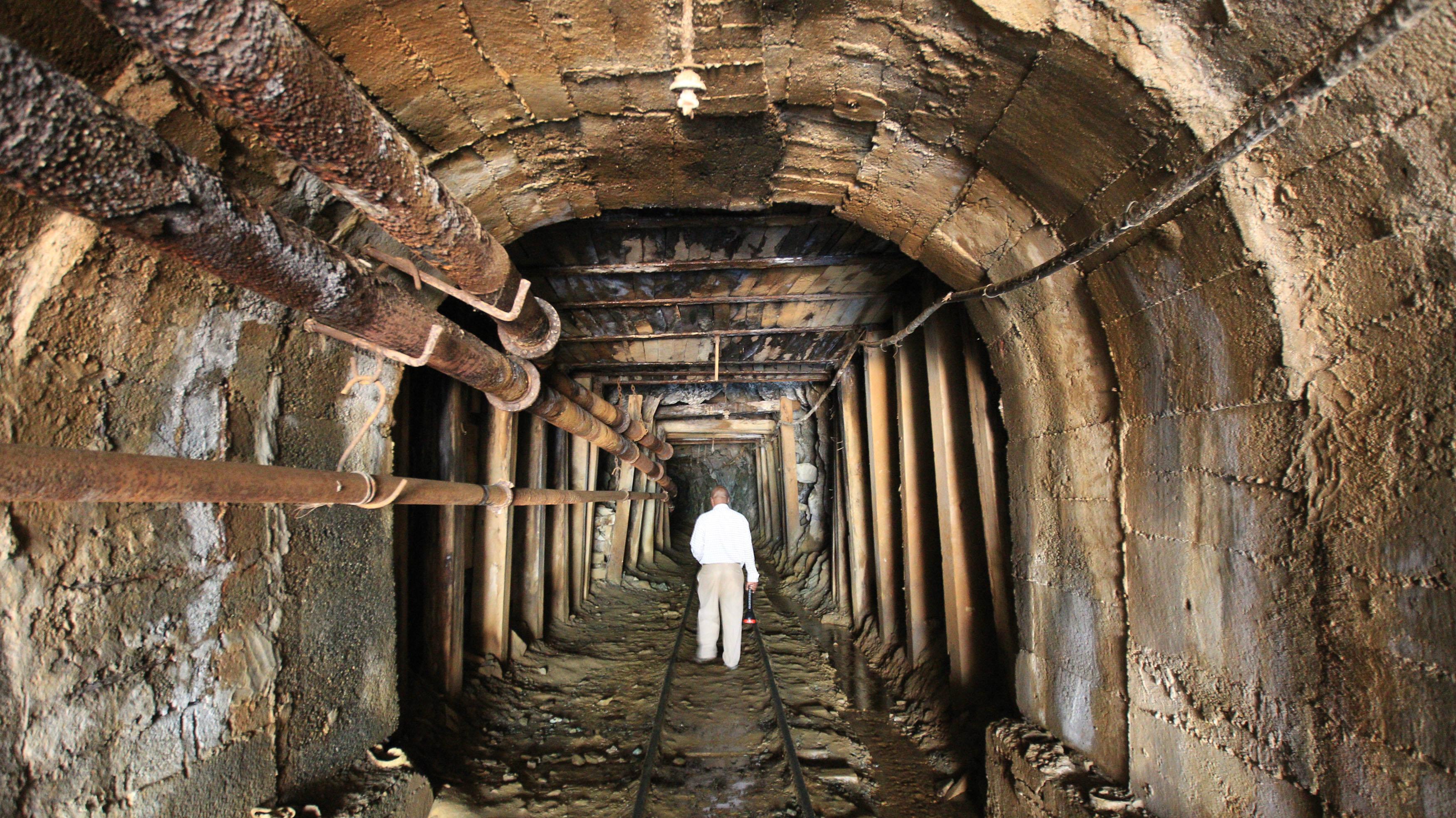 The Kilembe copper-cobalt mine.