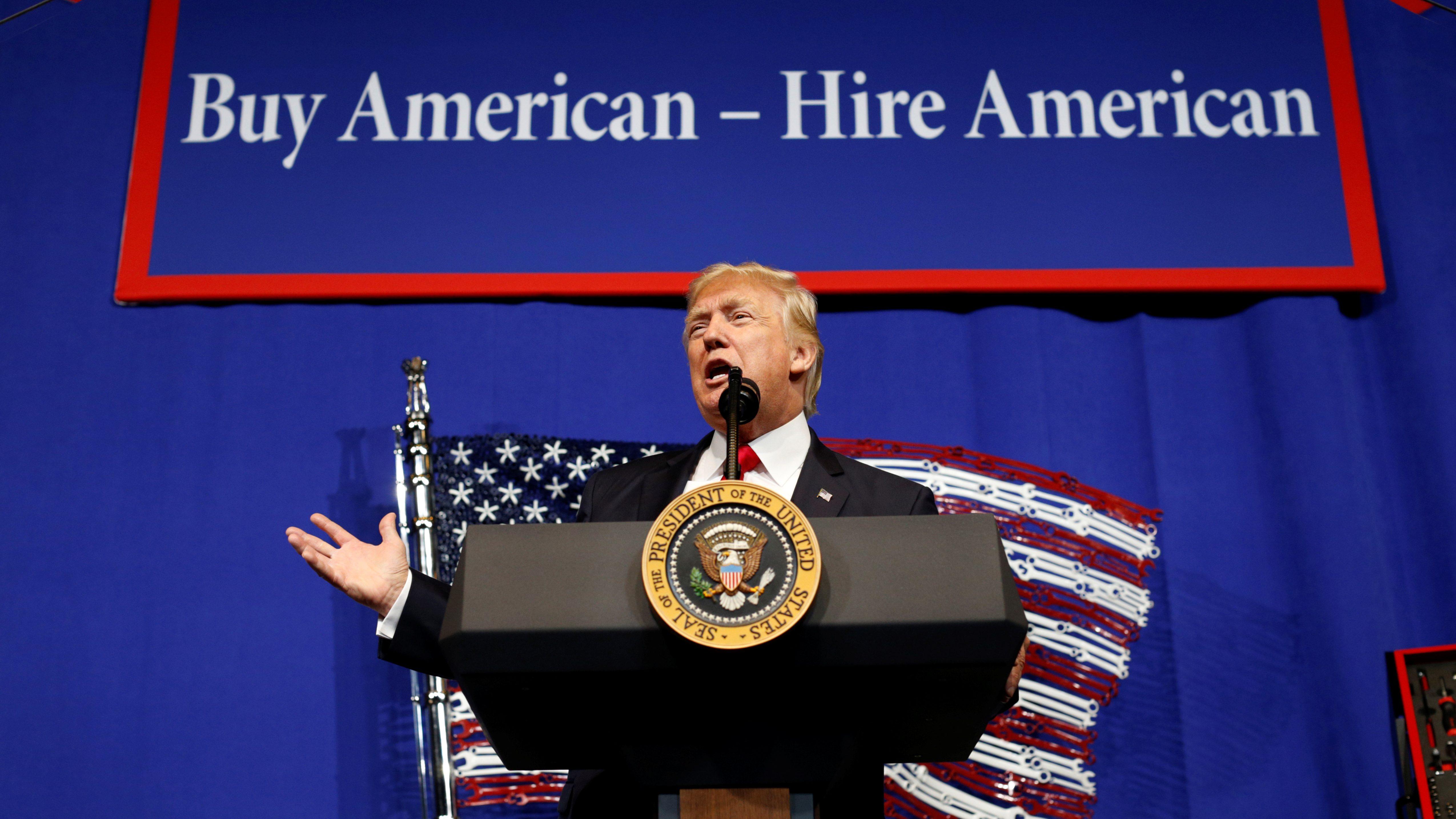 U.S. President Donald Trump s
