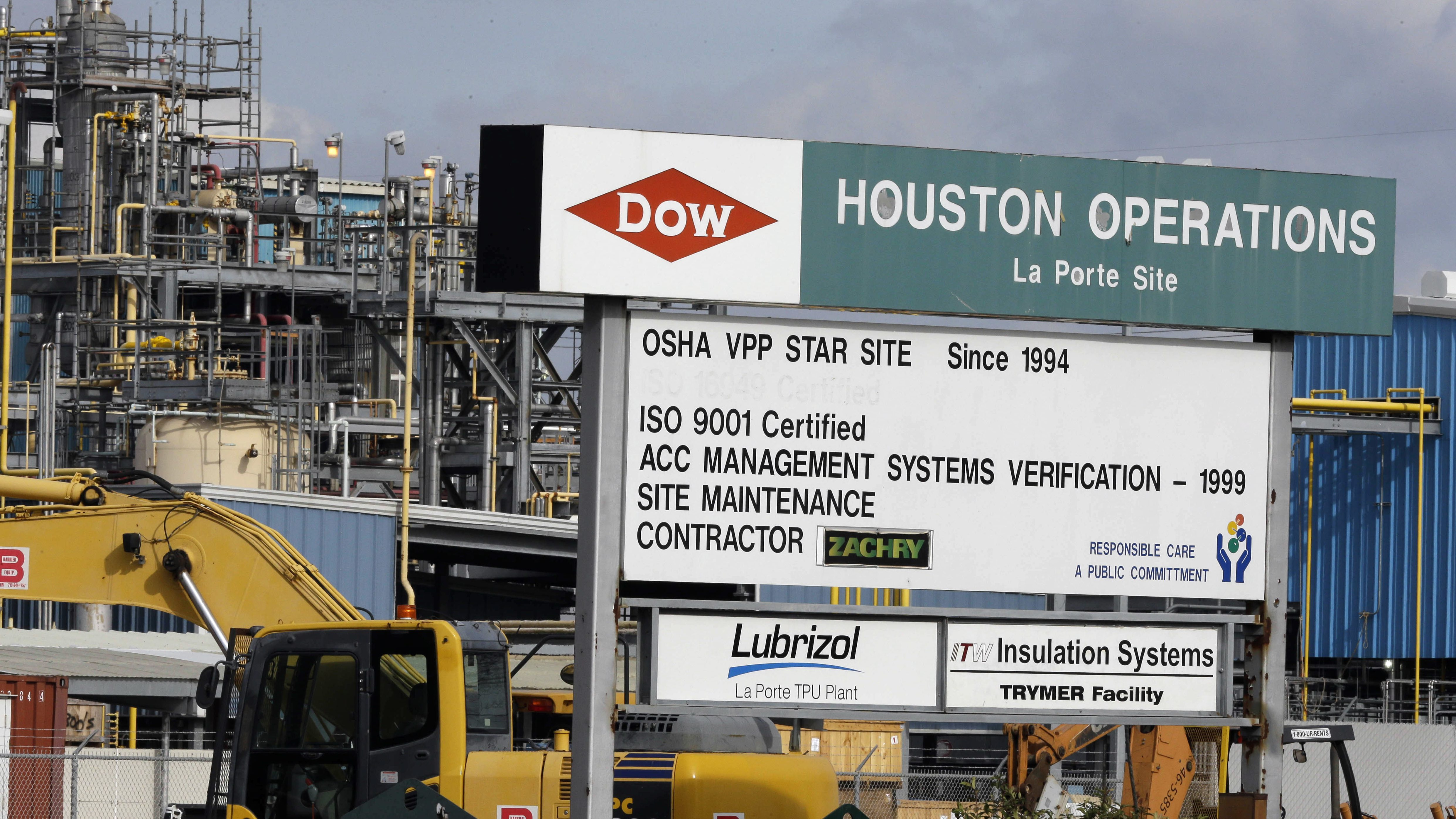 Dow chemical sign