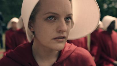 Elisabeth Moss as 'Offred'