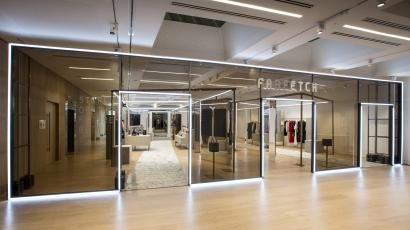 wholesale dealer 95932 22756 Farfetch s Store of the Future