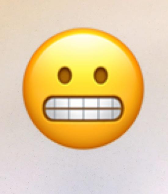 The Emoji Is The Best Emojilong Live The Grimacing Emoji Quartz