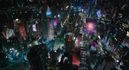 Ghost In The Shell Hong Kong Is The Silent But Central Character In This Scarlett Johansson Movie Quartz