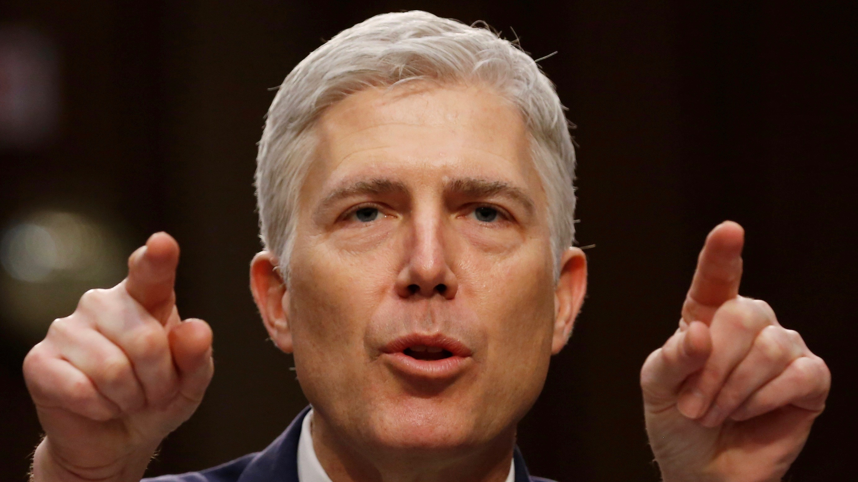 Supreme Court Justice to be Neil Gorsuch.