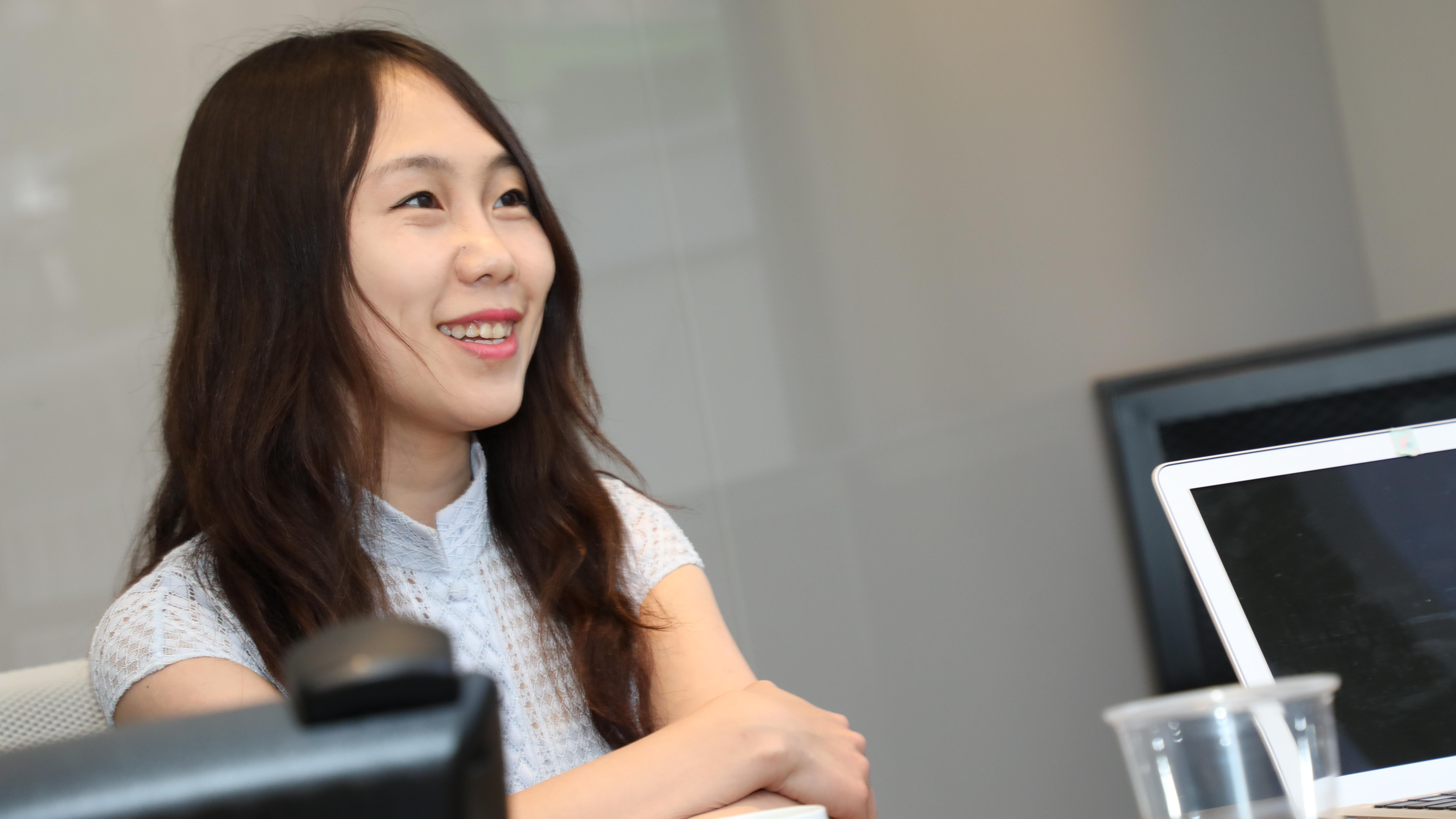Hao Jingfang sits down with Quartz on the sideline of Melon Hong Kong.