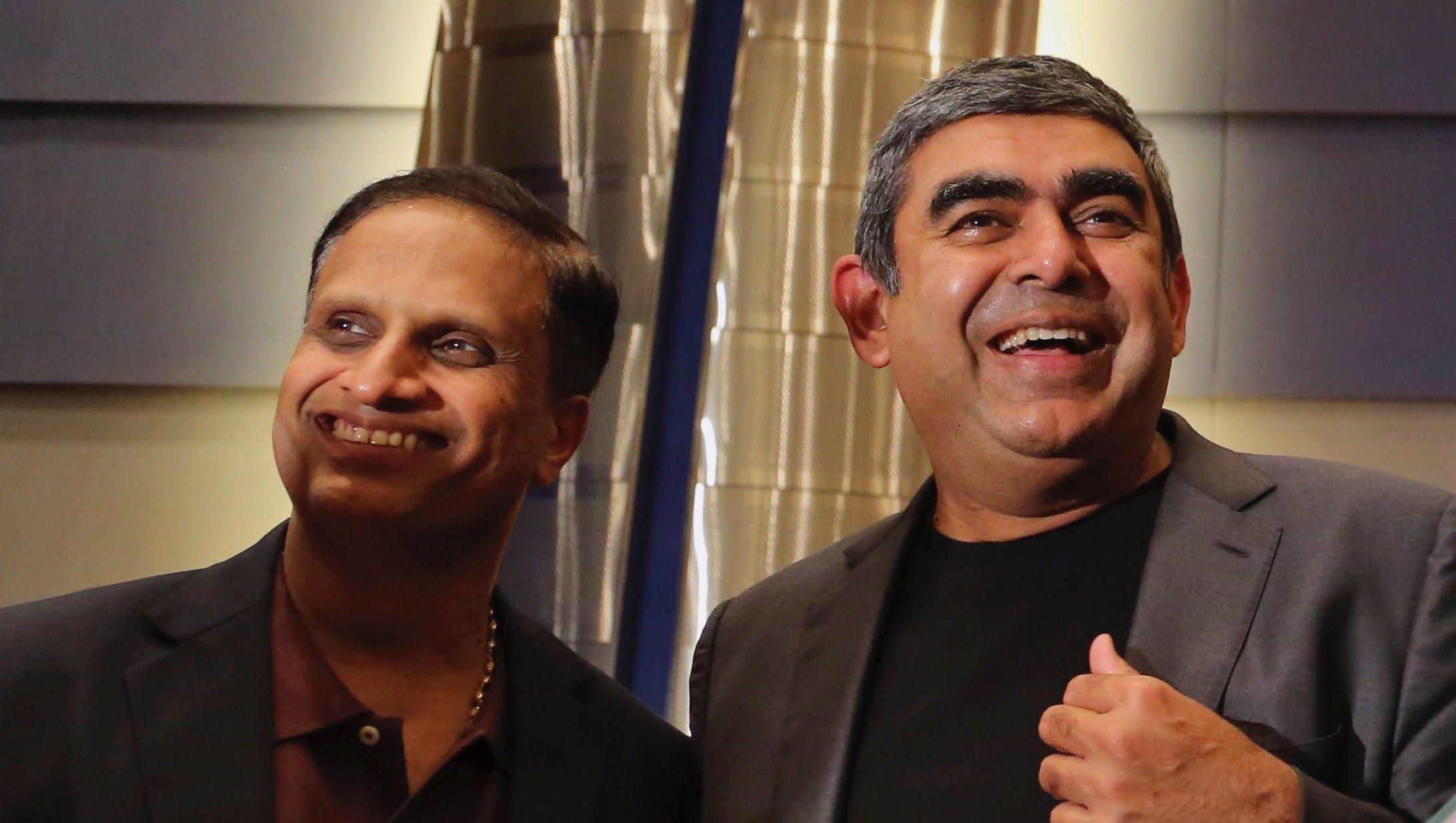 Vishal Sikka, Pravin Rao, Rajiv Bansa