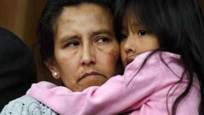 Jeanette Vizguerra, a Mexican woman seeking to avoid deportation from the United States