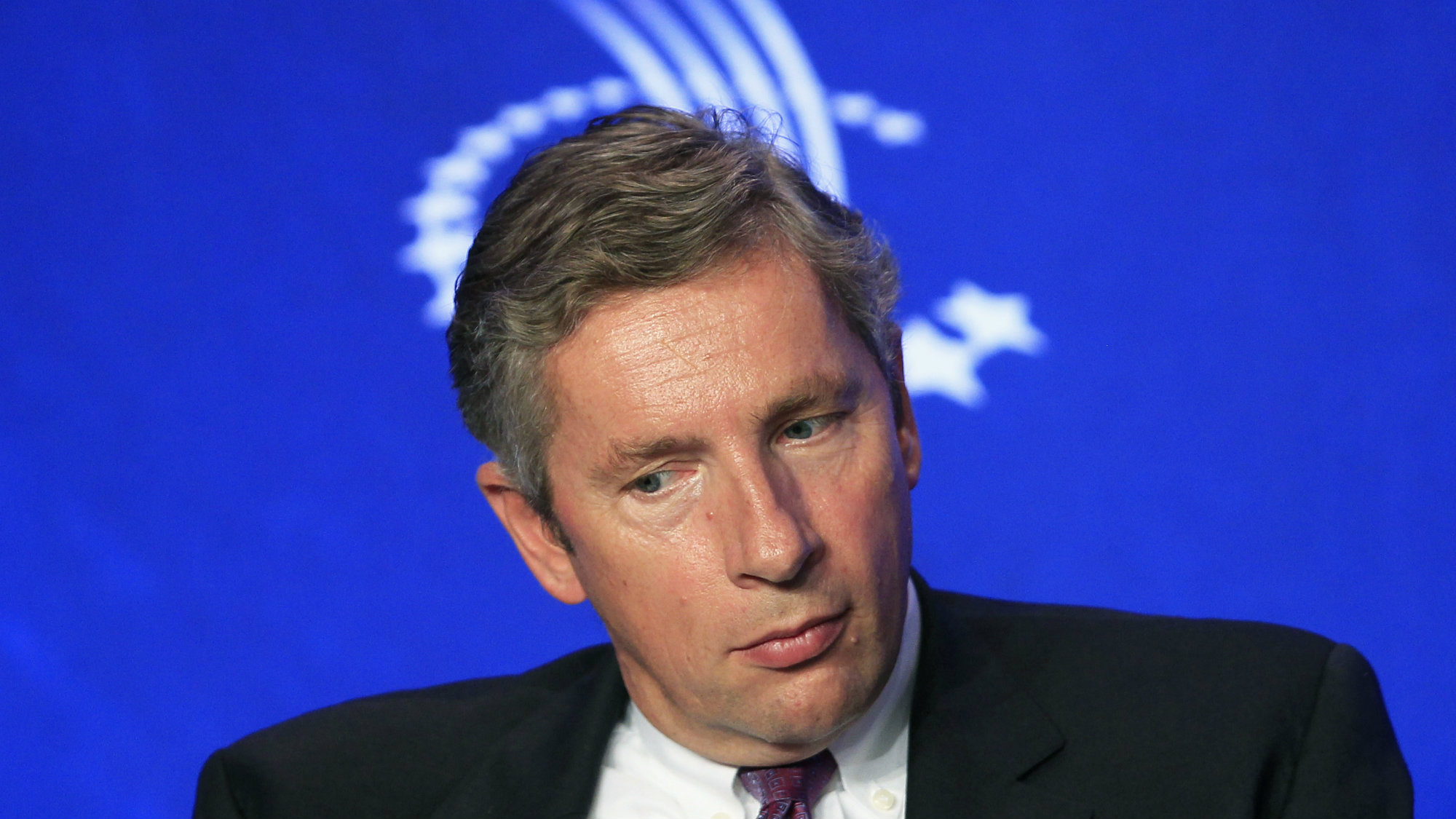 Klaus Kleinfeld, CEO of Alcoa Inc., takes part in a discussion regarding supply chains of opportunity during the Clinton Global Initiative in New York September 22, 2010.