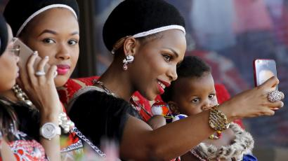 Marriage is not permitted in Swaziland, the last remaining absolute monarch in sub-Saharan Africa.