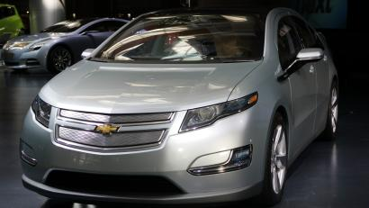 Chevy Volt's designer, Jelani Aliyu has been appointed boss of
