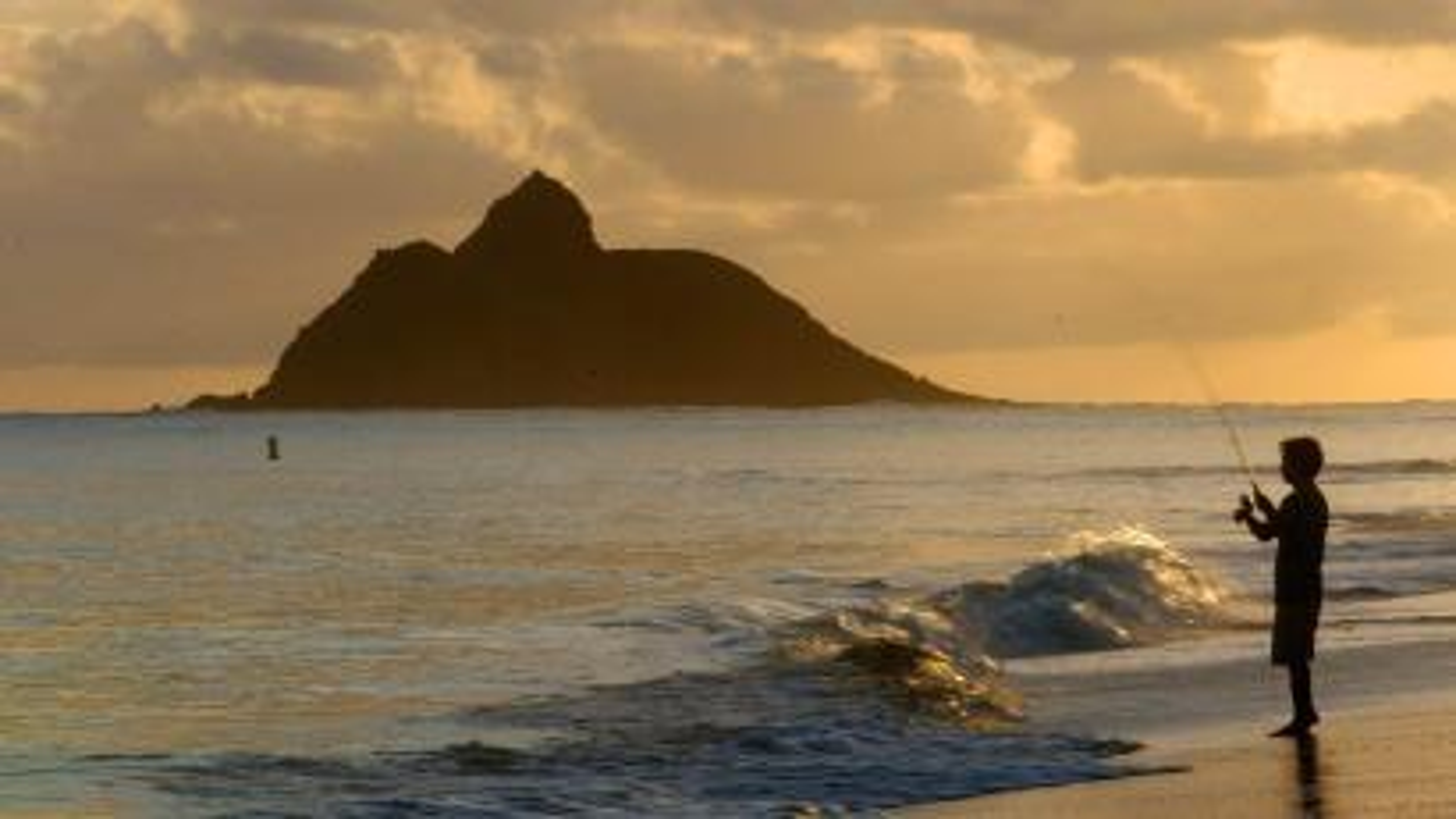 Hawaiian islands fishing