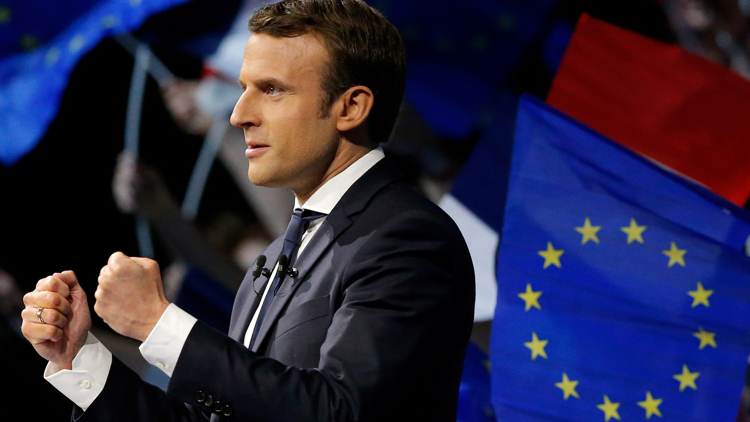 French Election Emmanuel Macron Has Defeated Marine Le Pen To Become President Of France Before The Age Of 40 Quartz