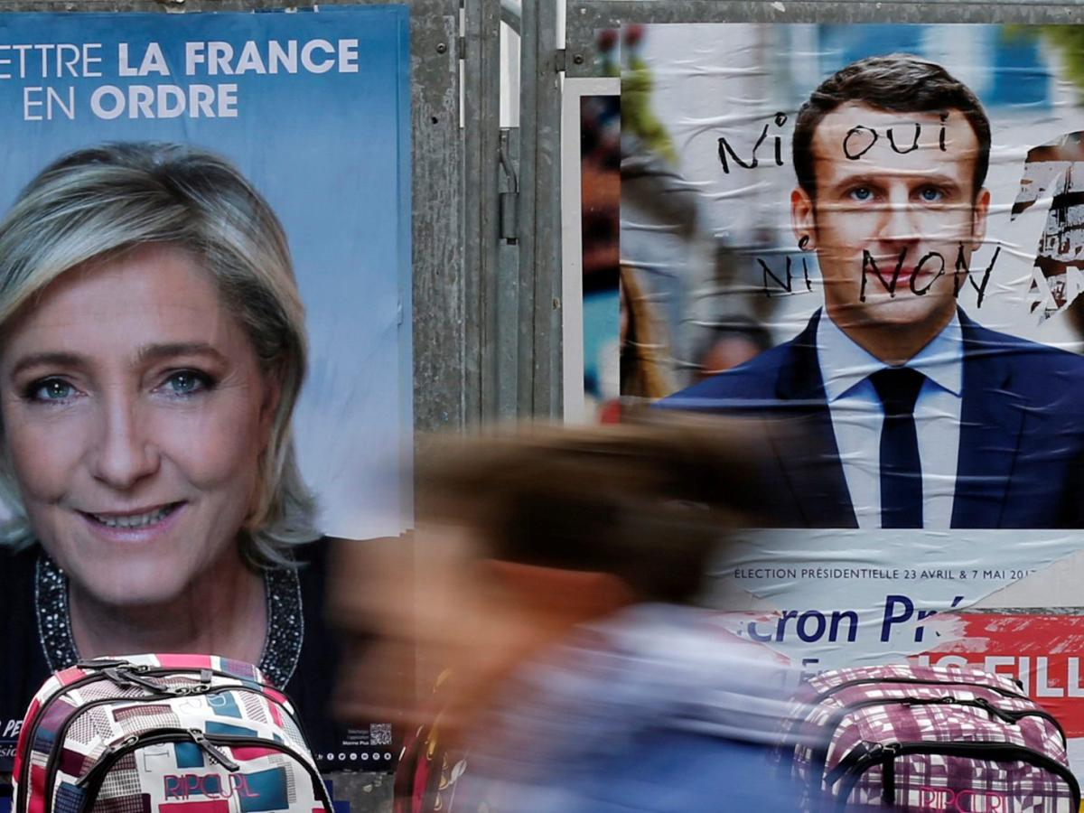 Le Pen Macron And Freud S Oedipus Complex He Married His Mother And She Killed Her Father Quartz