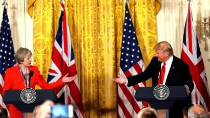 Theresa May's response to Assad's attack outclassed Donald Trump