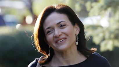"Review: Sheryl Sandberg's new book, ""Option B,"" deals with her"