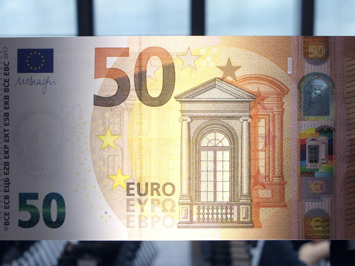 The New 50 Banknote The European Central Bank Worked With