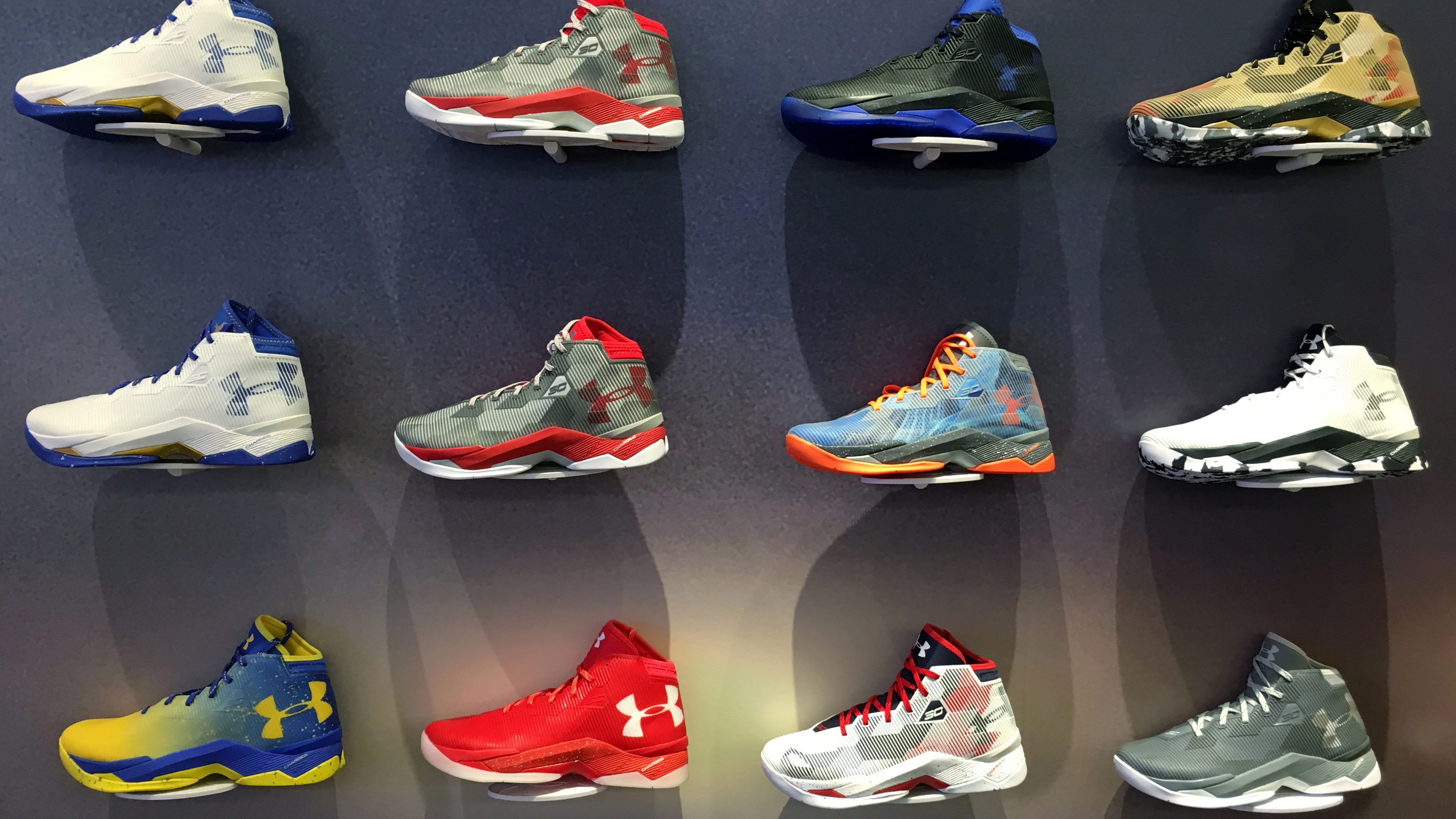 180bb64d73b1c Under Armour has tripped up in its run to become the world s next sneaker  giant