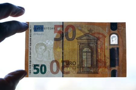 The new €50 banknote: The European Central Bank worked with