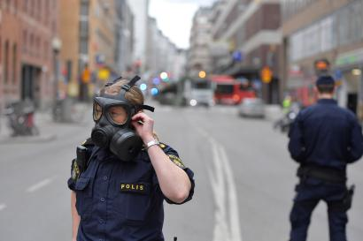 People killed in incident when a truck was driven into a department store in central Stockholm, Sweden April 7, 2017