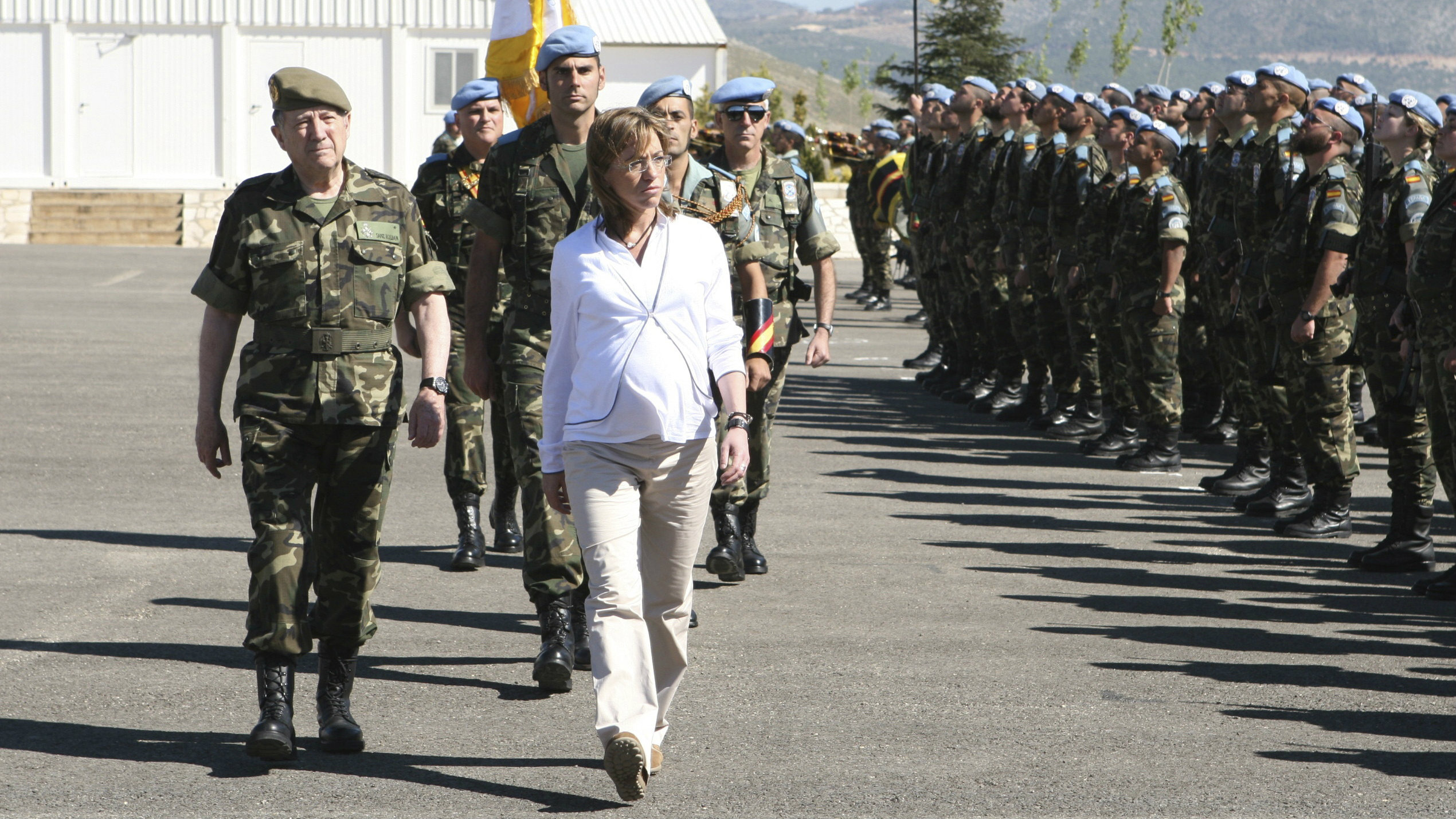 Spanish Defence Minister Carme Chacon