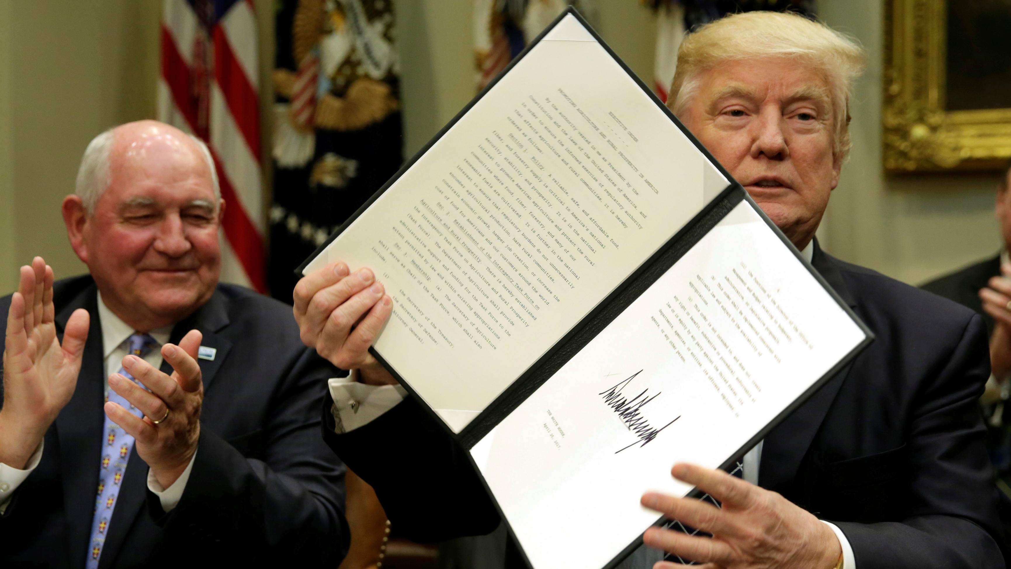 Trump ups the ante over NAFTA.