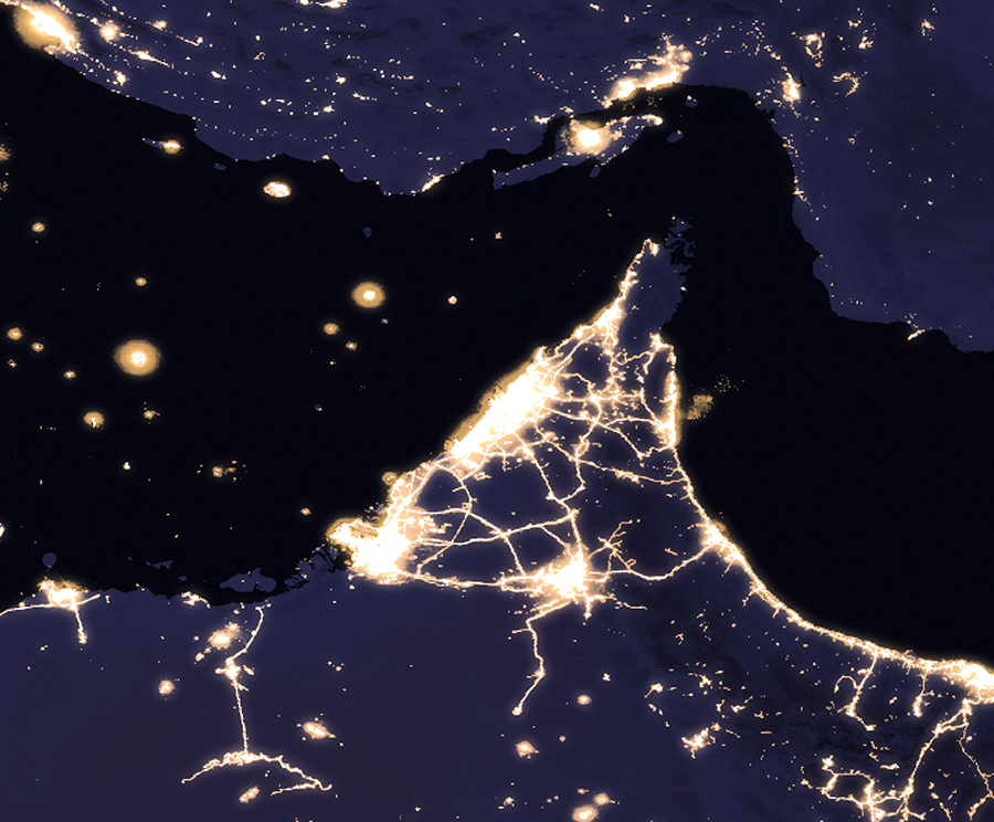 Nasa S Black Marble Map Shows The Light Of Human Population