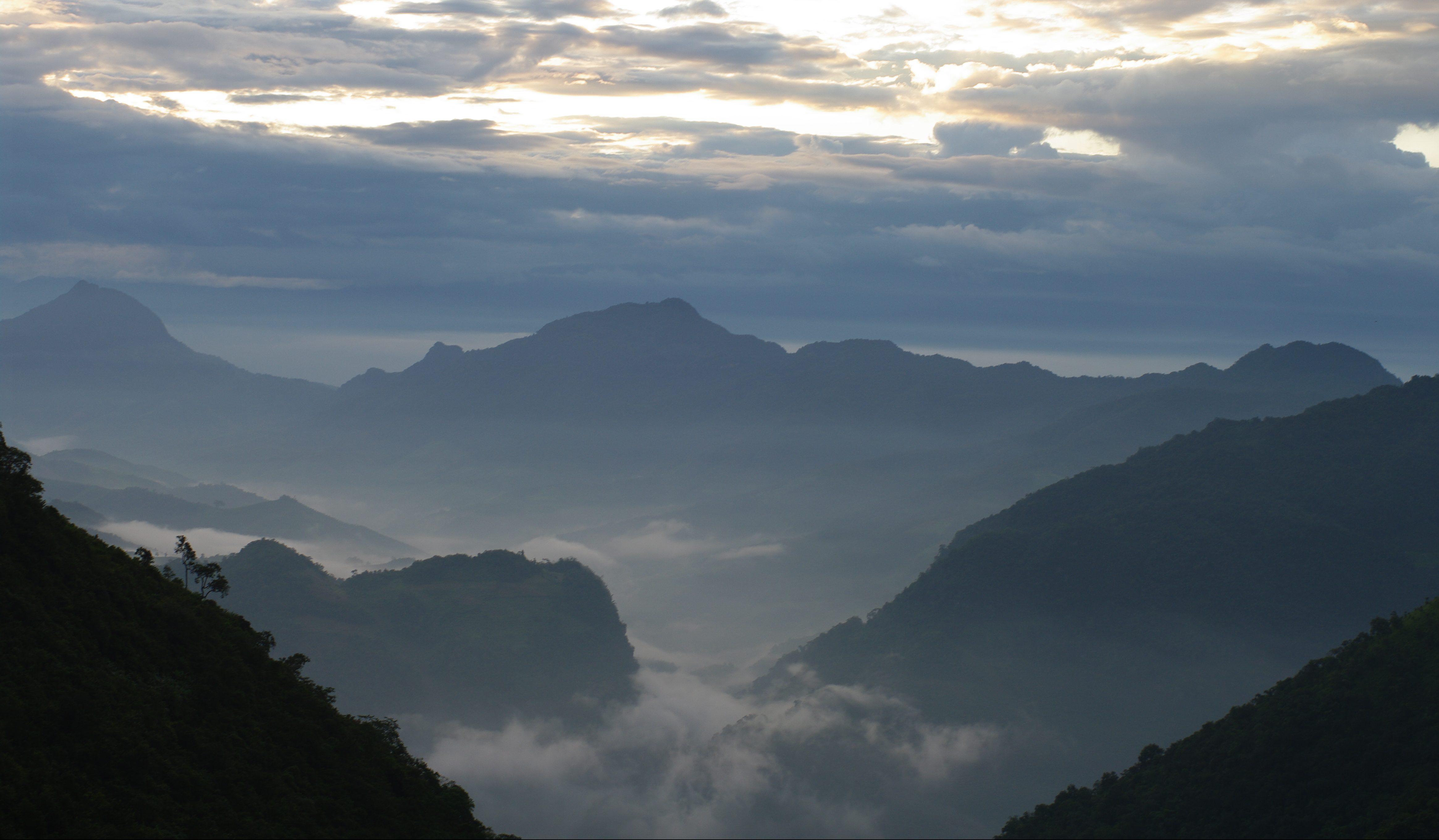 The Yunnan-Myanmar border
