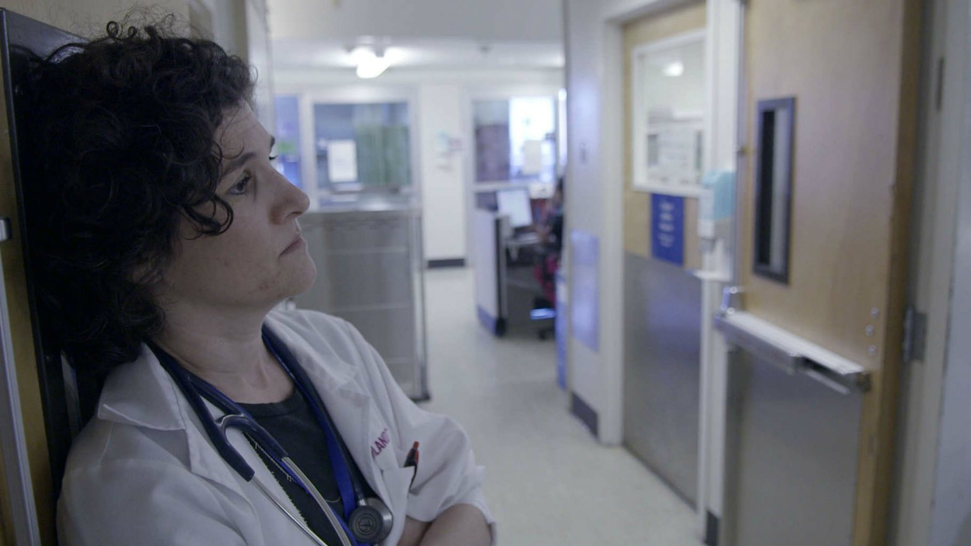 """Dr. Jessica Zitter, subject of the documentary short """"Extremis."""""""