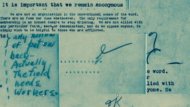 AA manuscript.