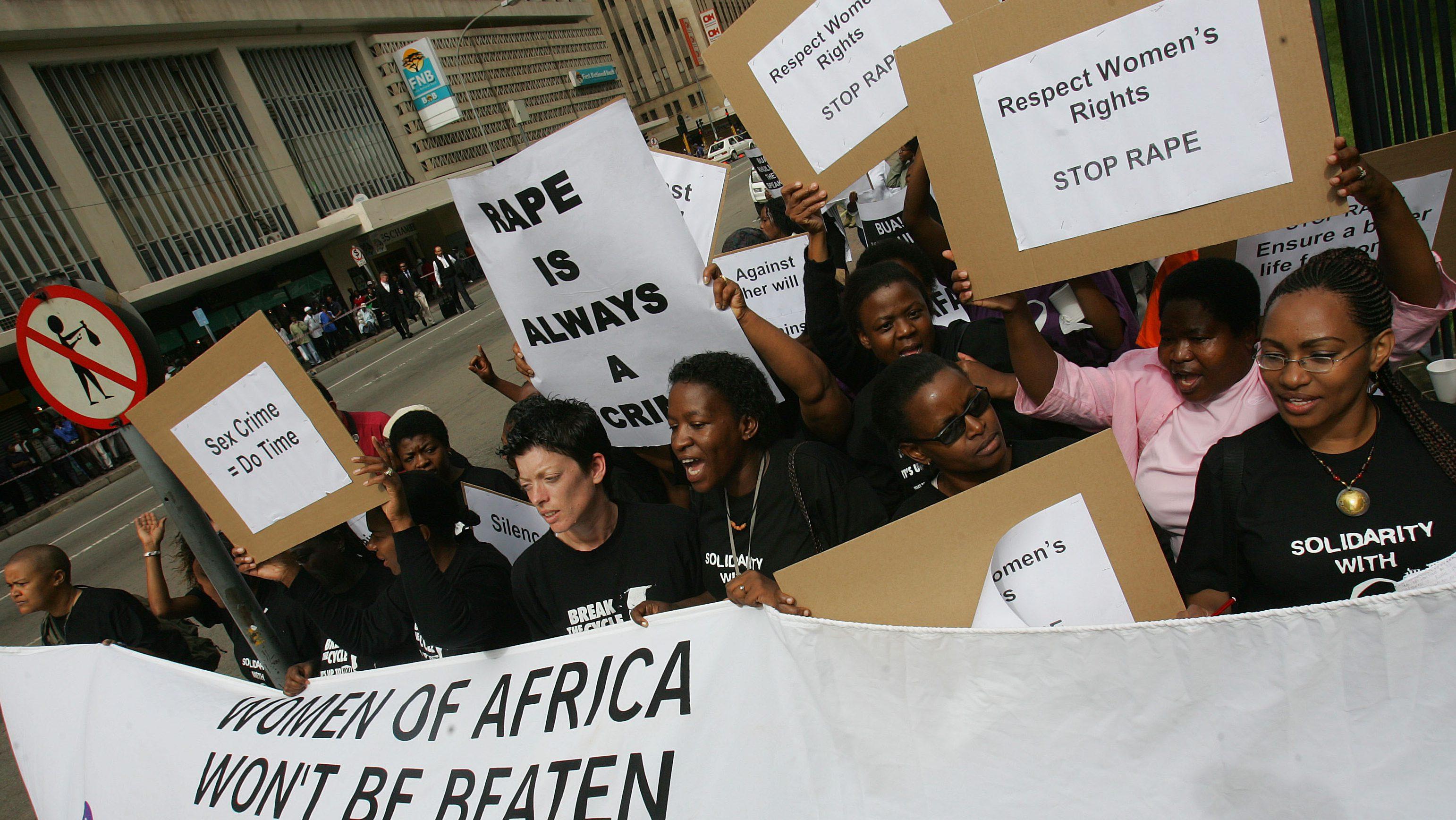 SOUTH AFRICA ZUMA RAPE TRIAL