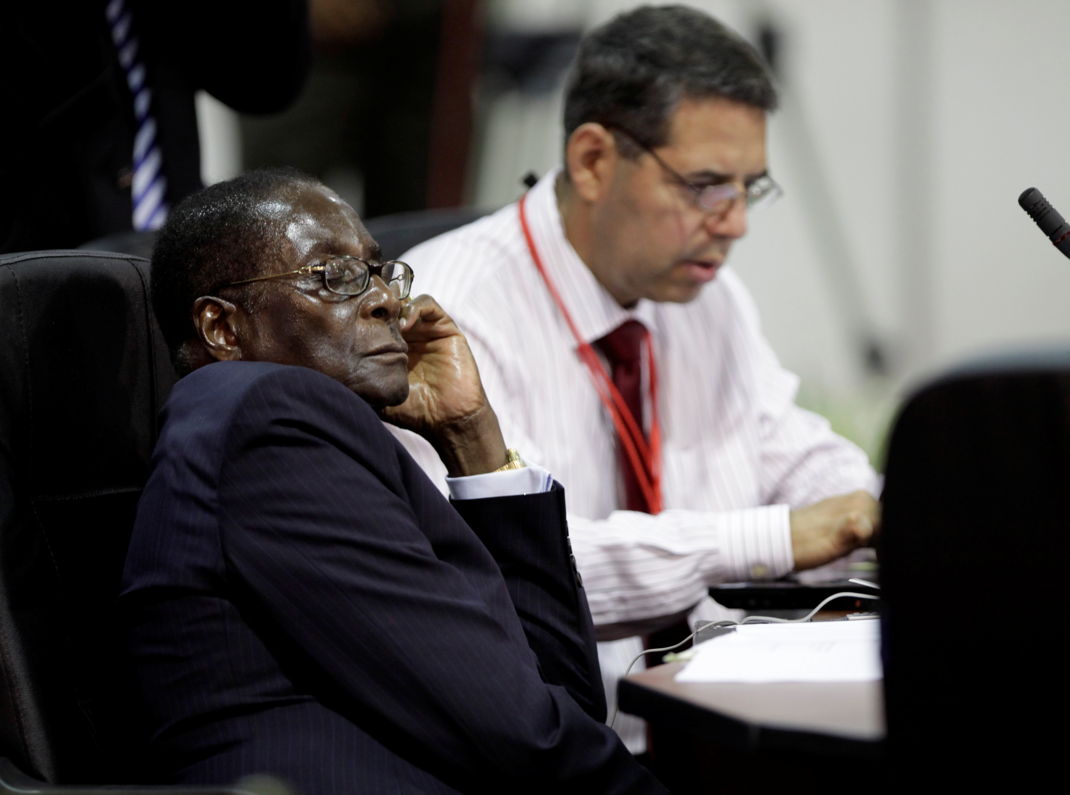 At the Africa and South America Summit in Venezuela, in September 2009.