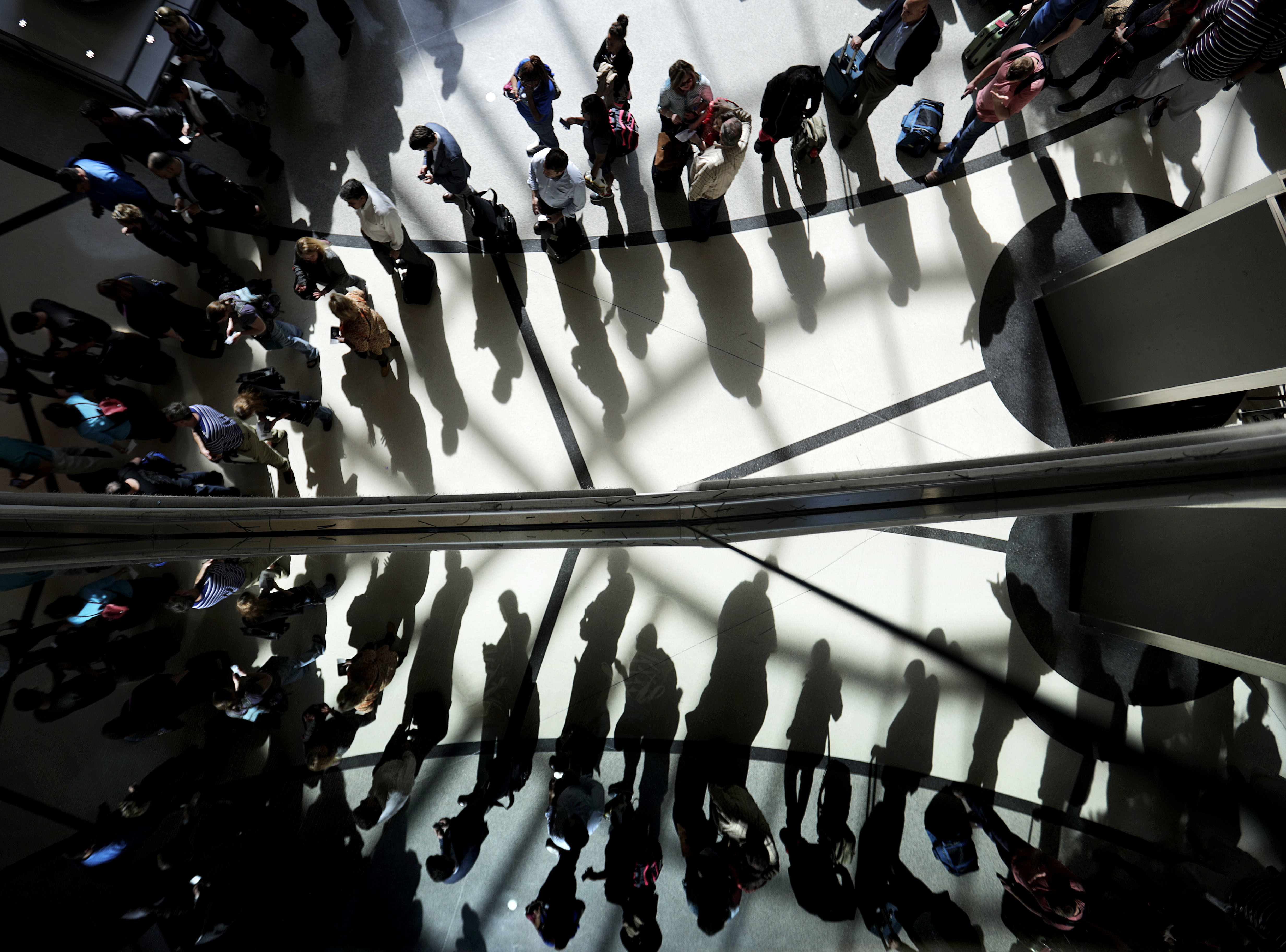 Airport Security-Long Lines