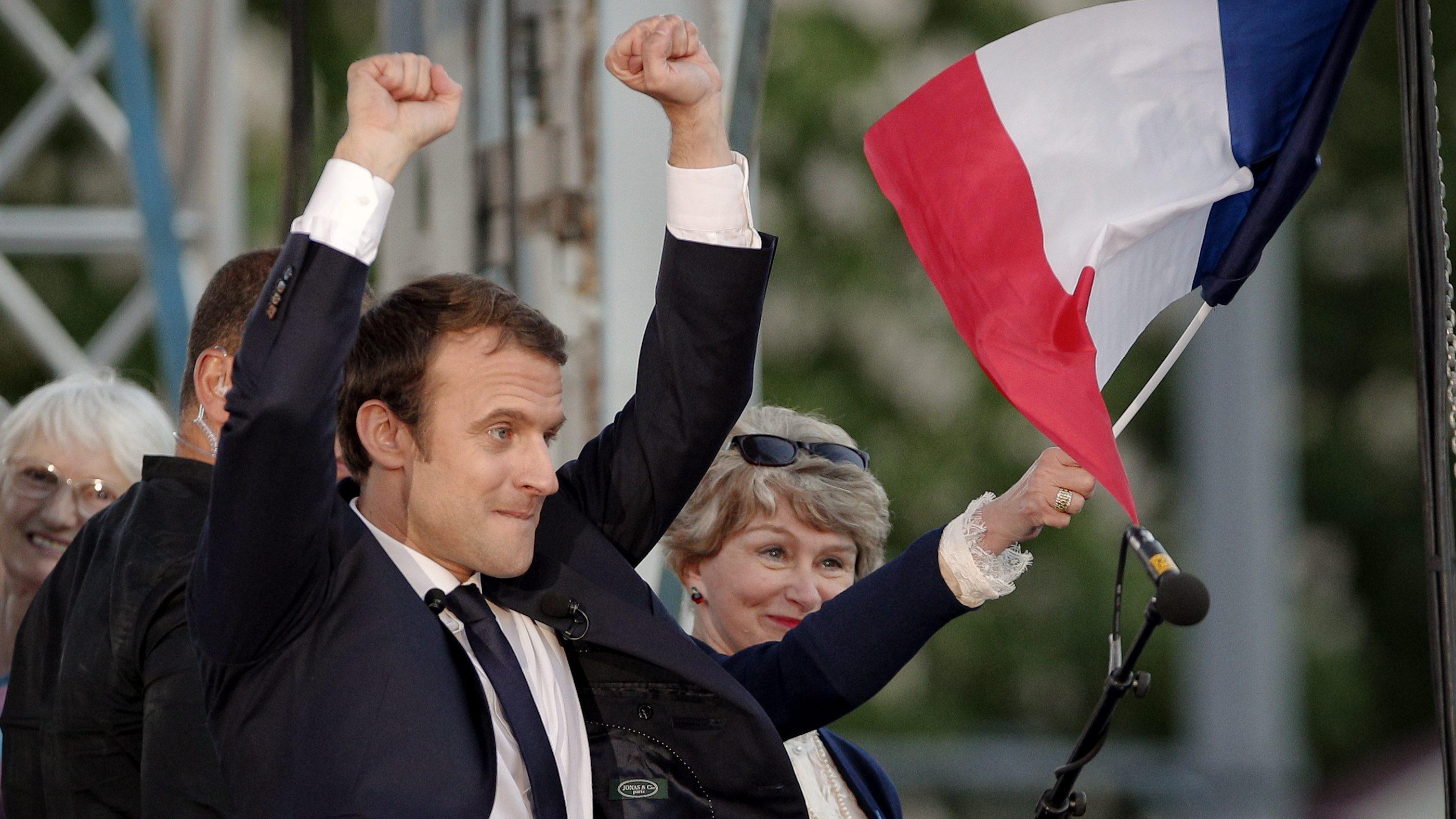 Emmanuel Macron has been described as a gay, fish-eyed, adder-like, tax-dodging psychopath