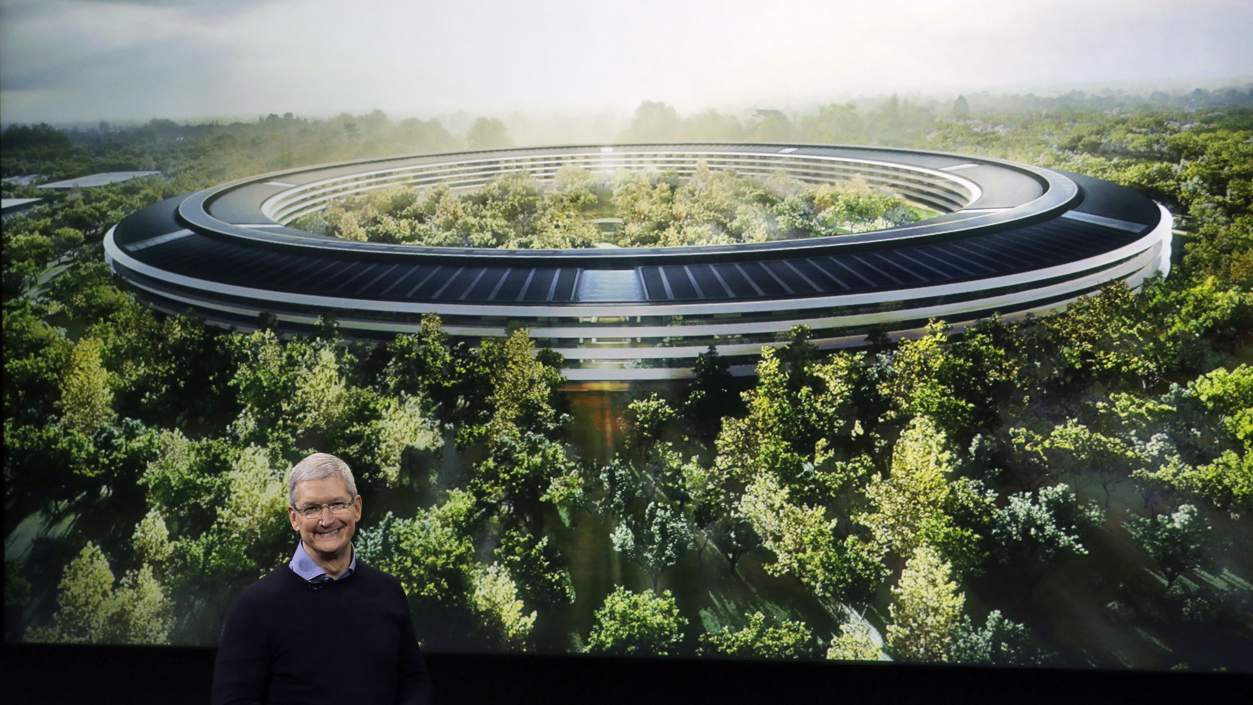Apples New 5 Billion Campus Has A 100000 Square Foot Gym And No Daycare
