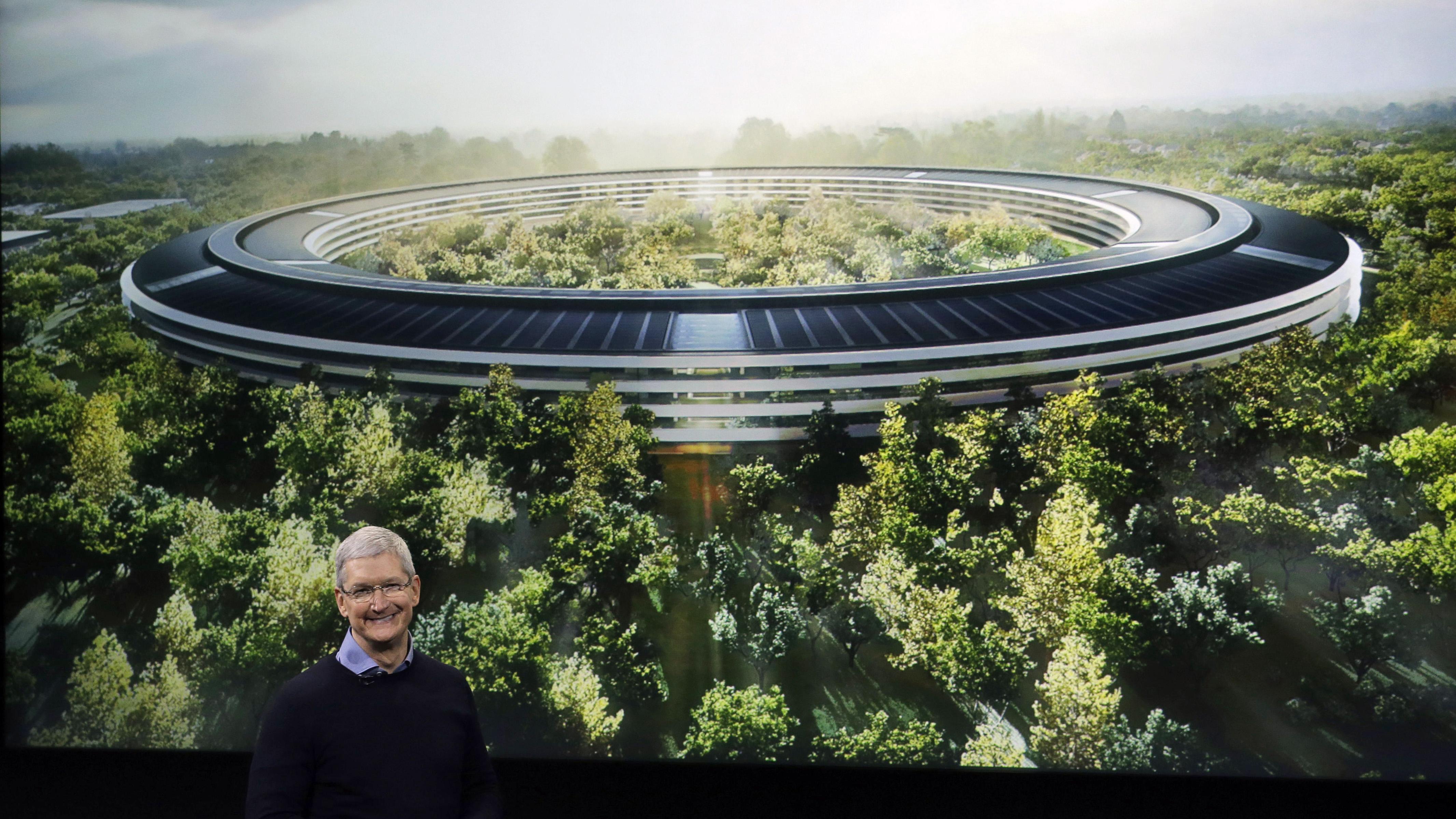 Apple S New 5 Billion Apple Park Campus Has A 100 000