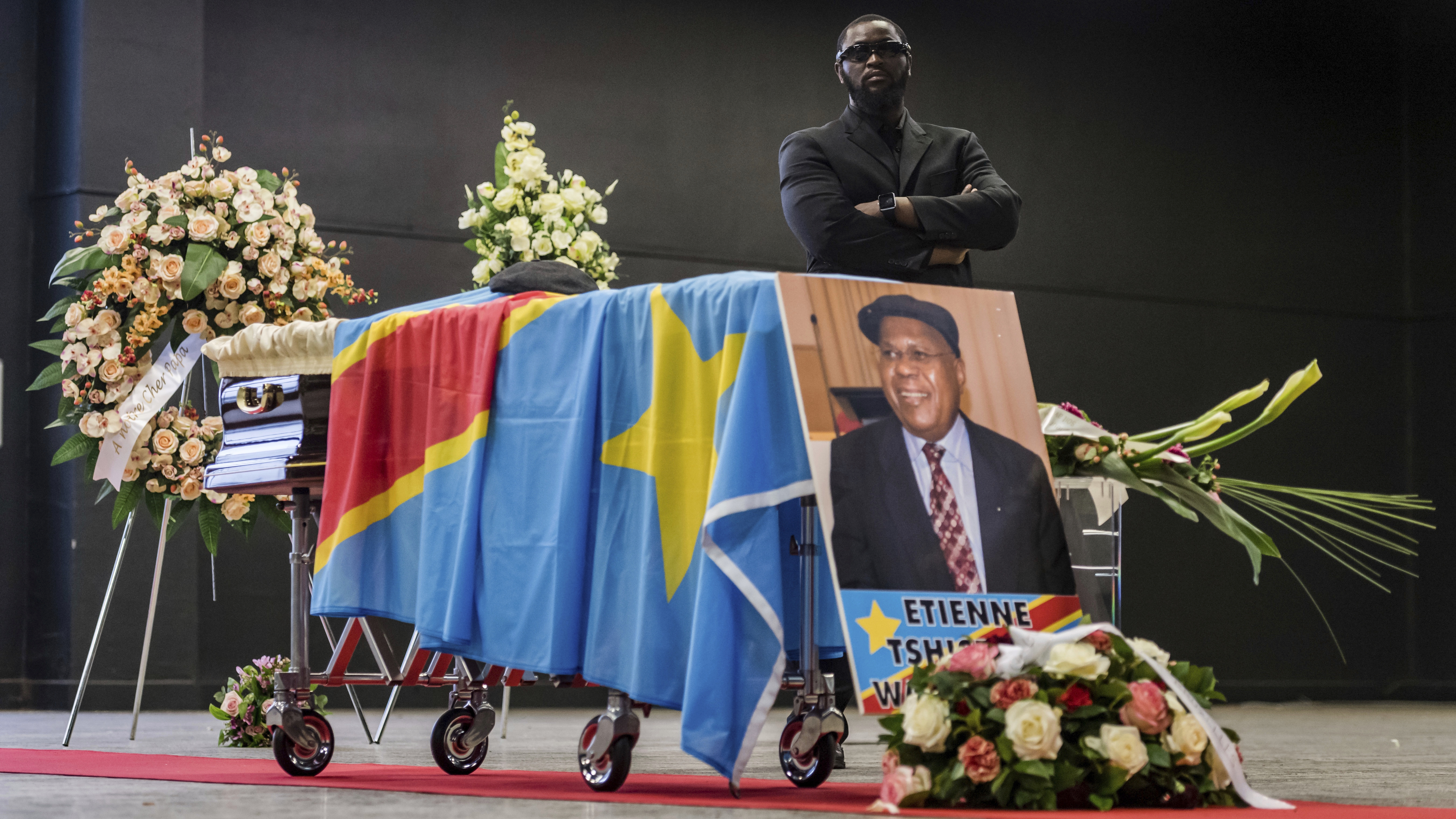 Deceased DR Congo opposition leader Etienne Tshisekedi yet to be buried as his funeral causes political controversy