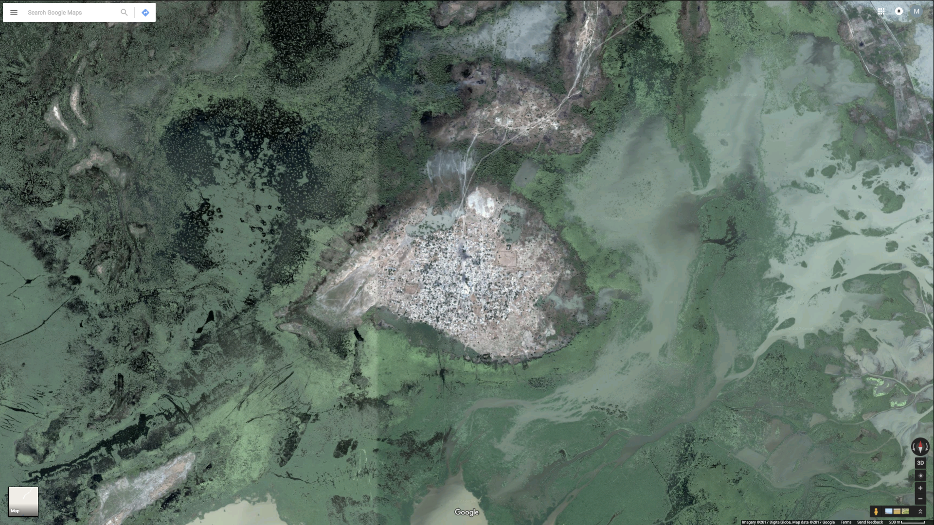 Places That Are Not On Google Maps Quartz - Search satellite maps