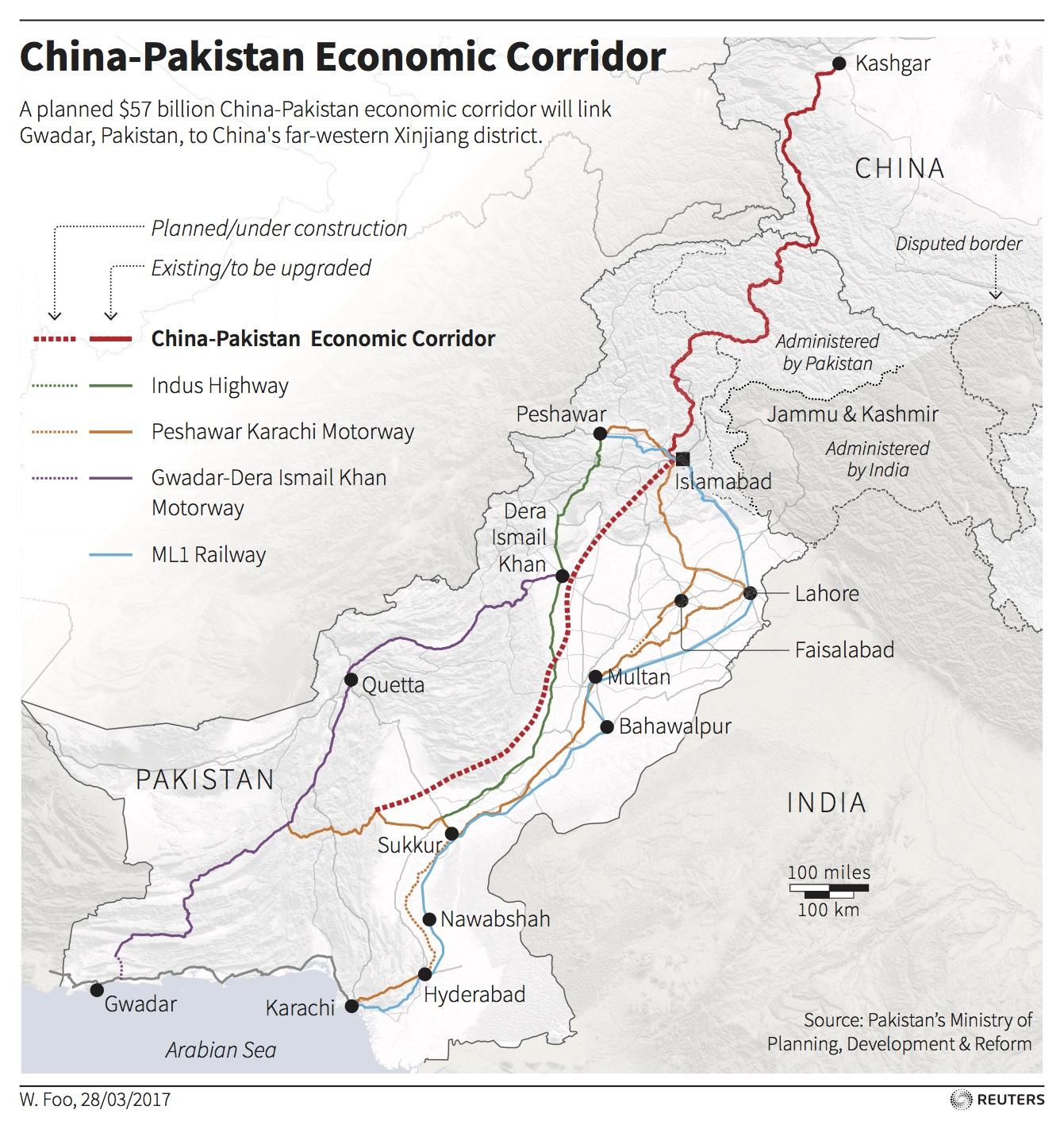 China-Pakistan Economic Corridor.