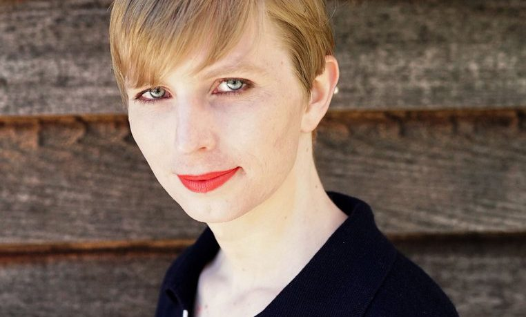 Chelsea Manning's first photograph as a woman, posted to her Instagram account