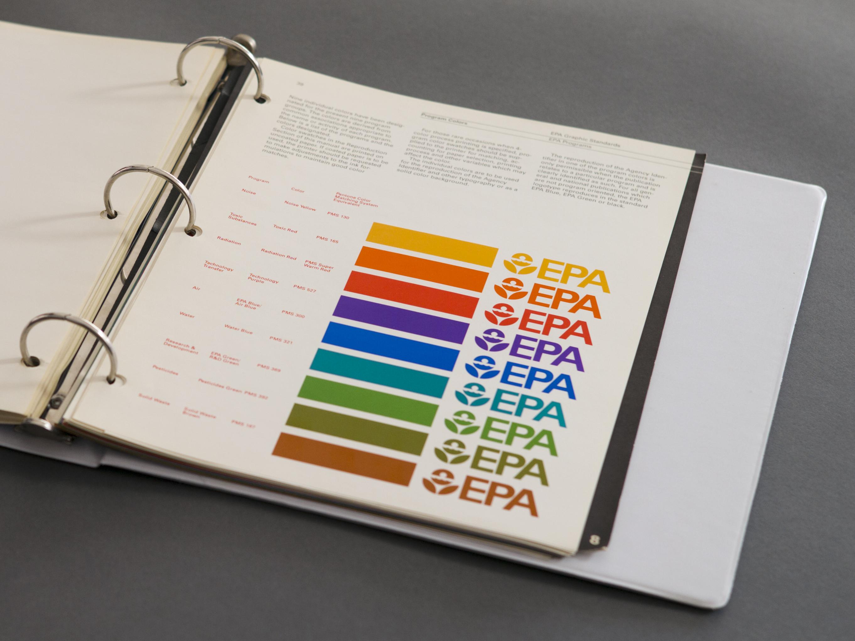Epa  Nasa  Ibm Graphic Design Manuals Are Newly Popular As