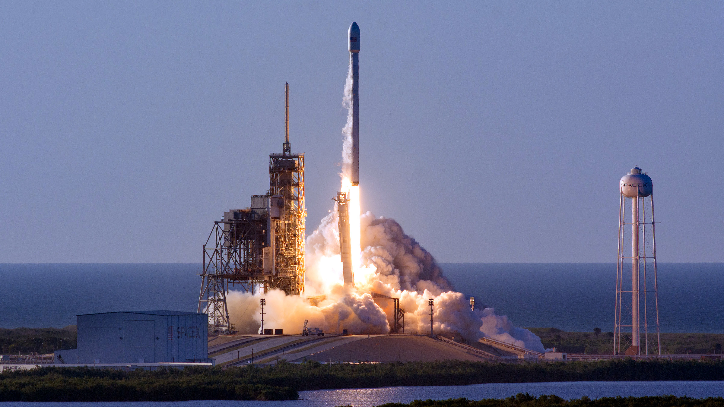 Falcon 9 Inmarsat Elon Musk SpaceX Launch