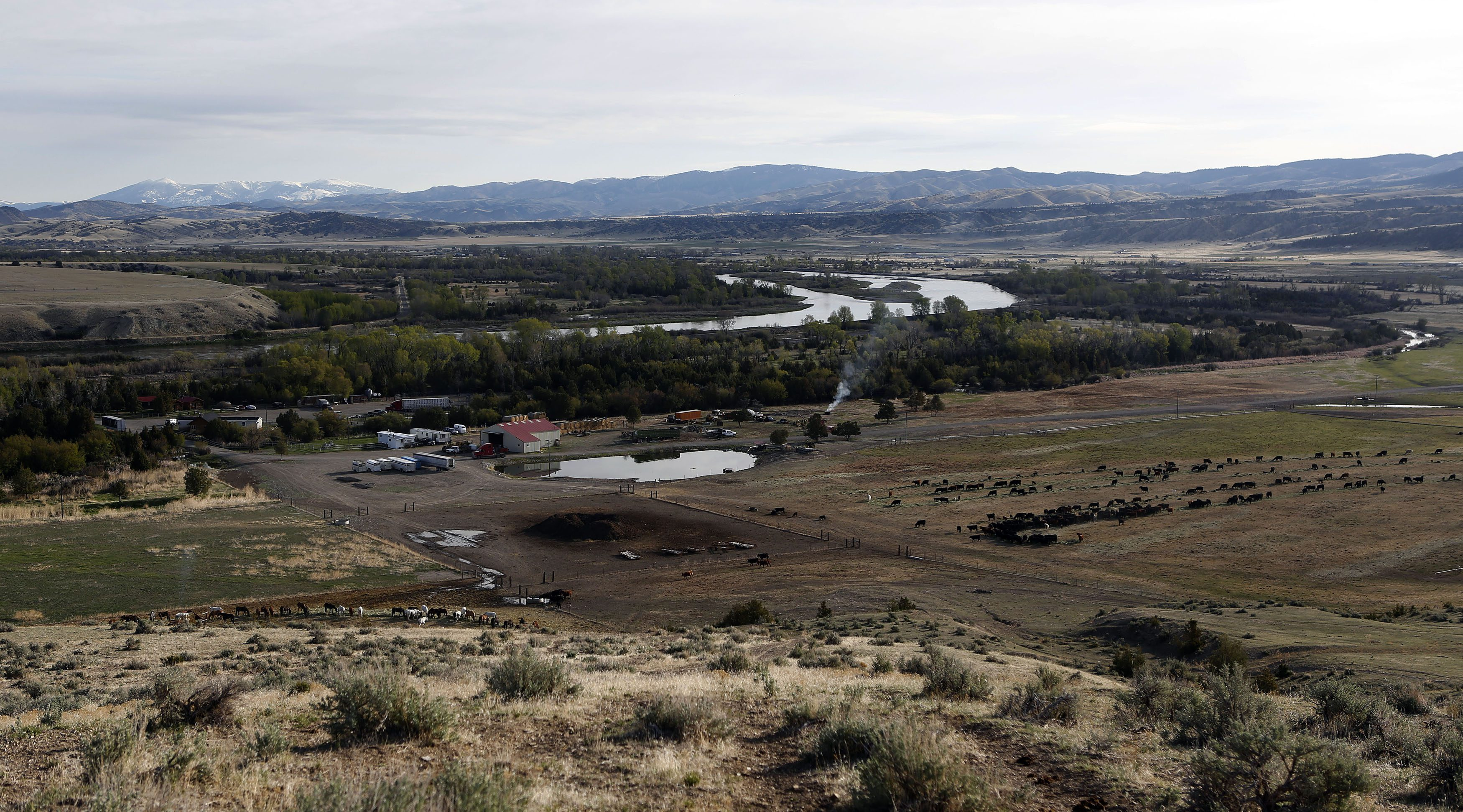 Montana's size and sparse population makes politics different.