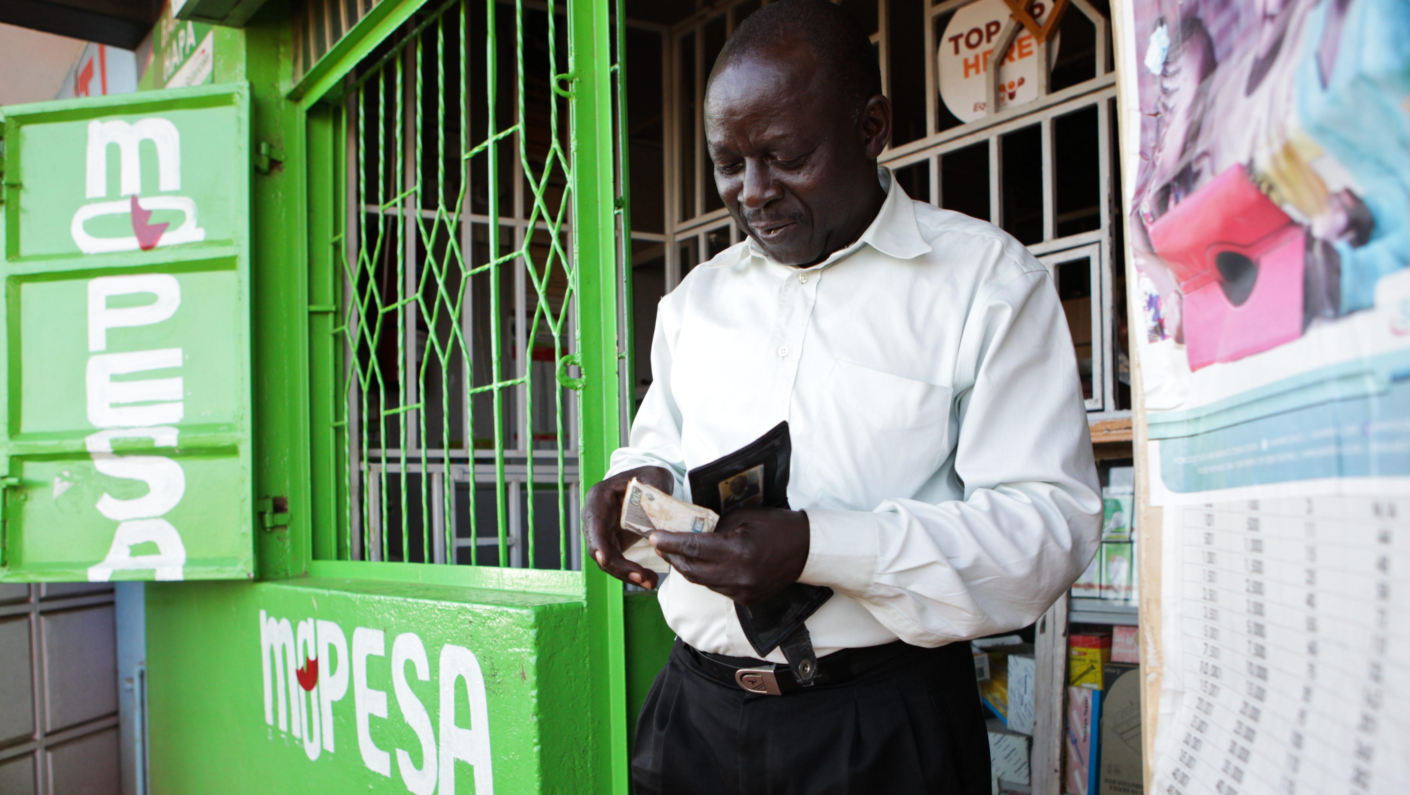 Kenya Safaricom Mpesa