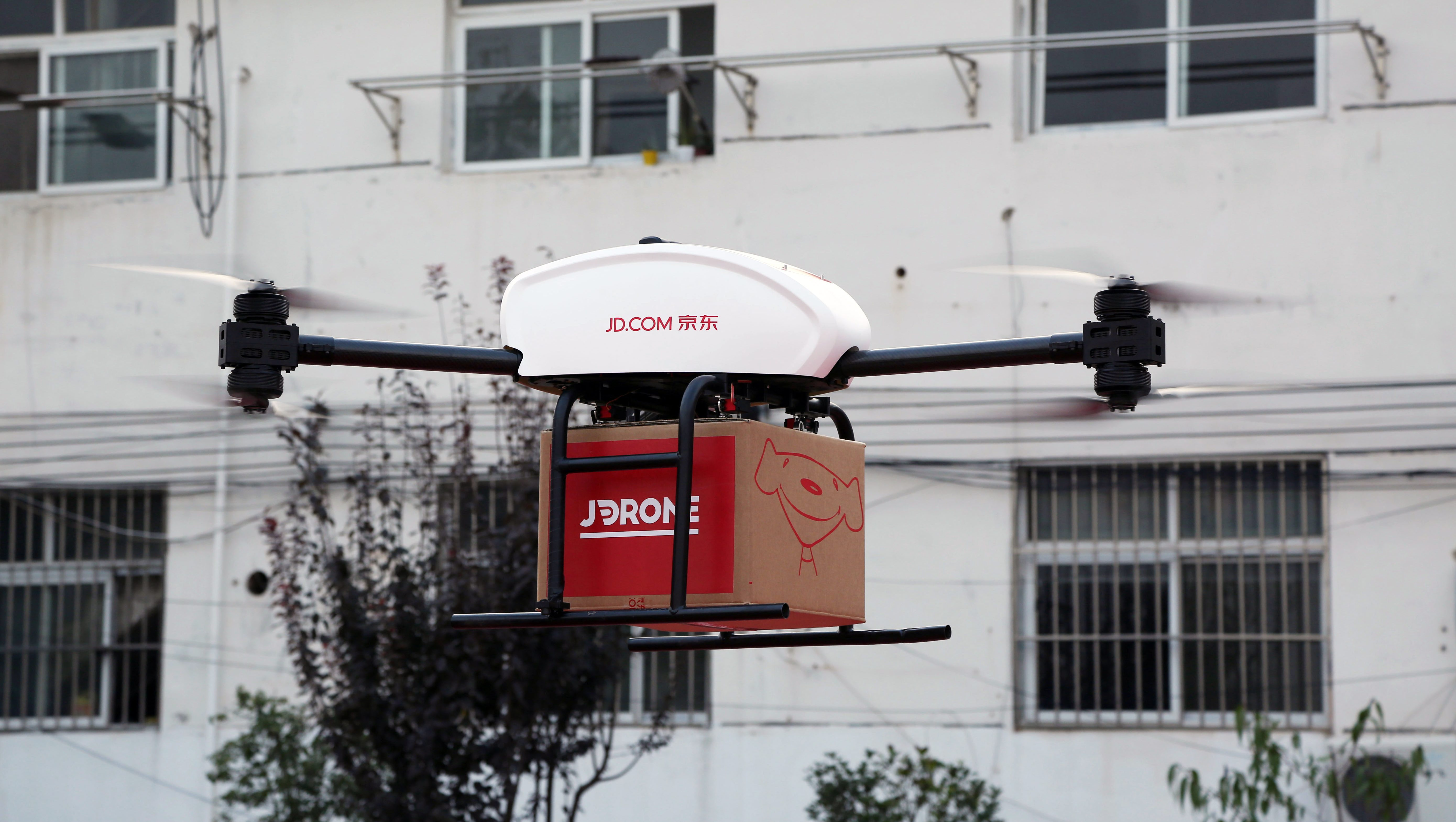 China's e-commerce giant JD.com is sending more drones for delivery soon.